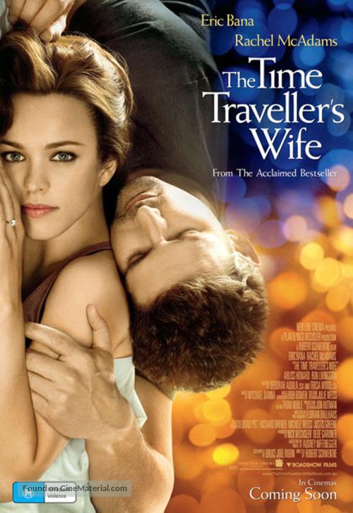 The Time Traveler's Wife - Australian Movie Poster