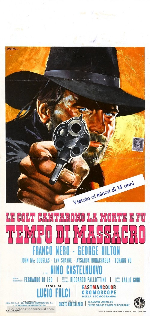 Tempo di massacro - Italian Movie Poster