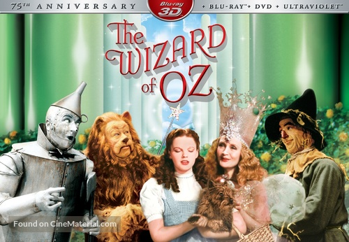 The Wizard of Oz - Blu-Ray movie cover