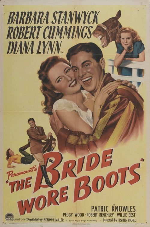 The Bride Wore Boots - Movie Poster