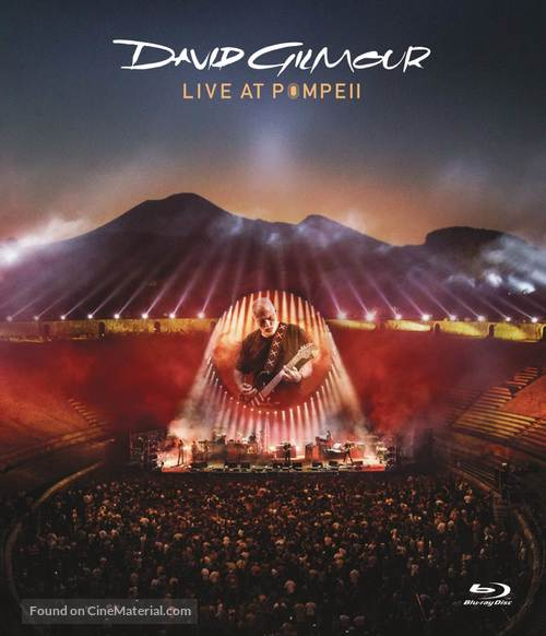 David Gilmour Live at Pompeii - British Blu-Ray cover