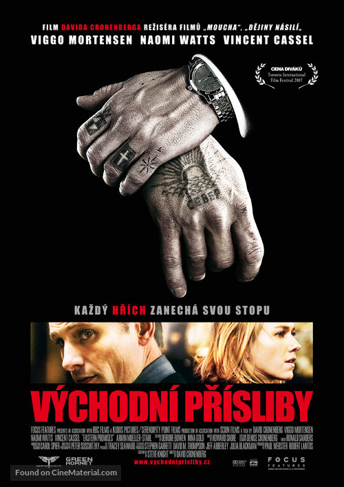 Eastern Promises - Czech Movie Poster
