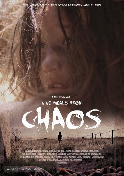 Nine Meals from Chaos - Argentinian Movie Poster