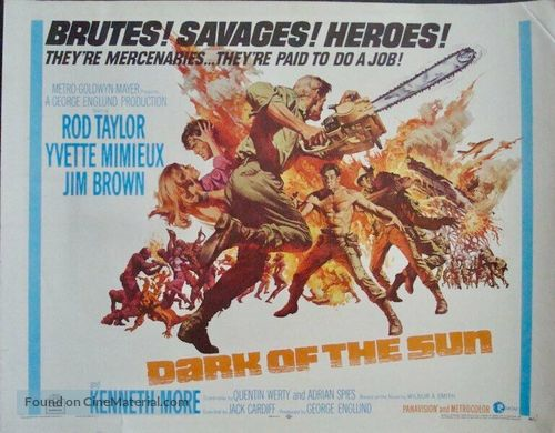 The Mercenaries - British Movie Poster