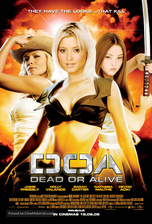 Dead Or Alive - Advance poster