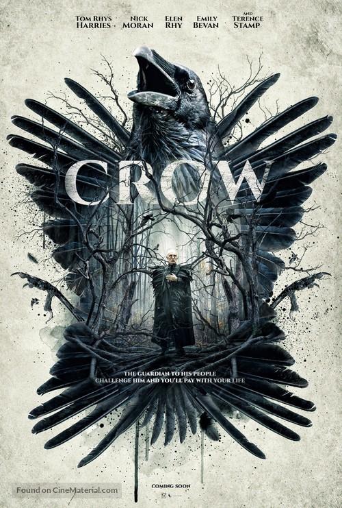 Crow - British Movie Poster