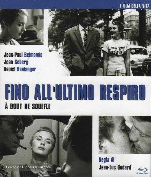 À bout de souffle - Italian Blu-Ray cover