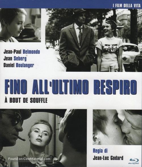 À bout de souffle - Italian Blu-Ray movie cover