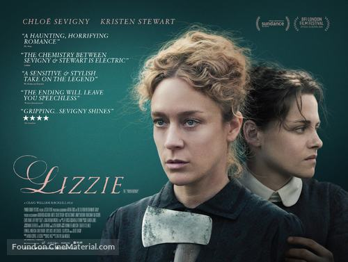 Lizzie - British Movie Poster