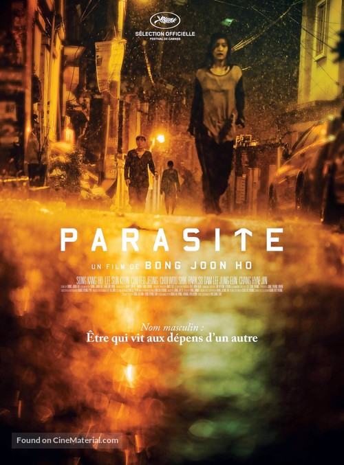 Parasite - French Movie Poster