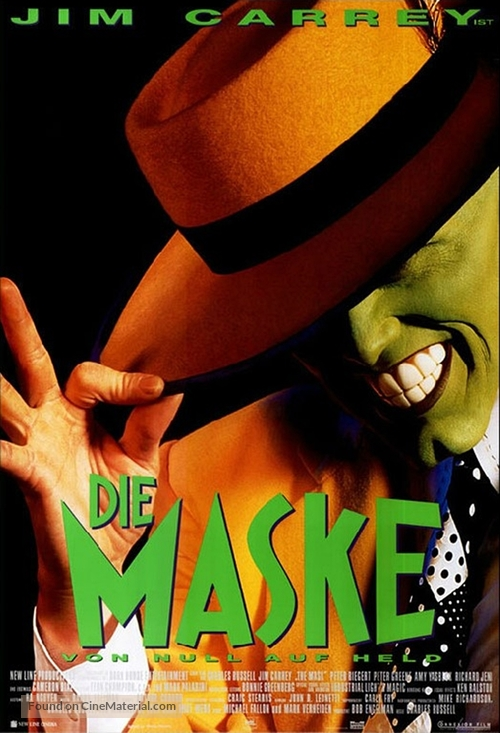 The Mask - German Movie Poster