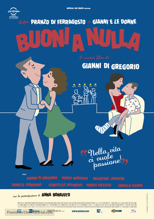 Buoni a nulla - Italian Movie Poster