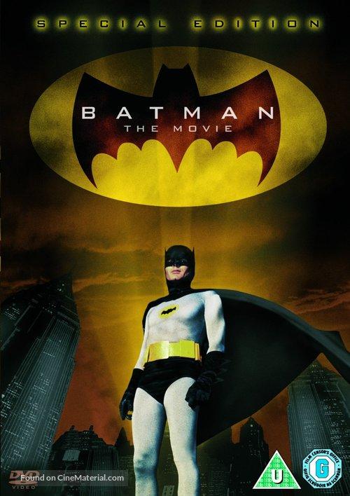 Batman - British DVD movie cover