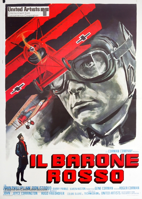 Von Richthofen and Brown - Italian Movie Poster