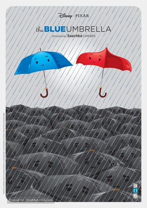 The Blue Umbrella - Movie Poster