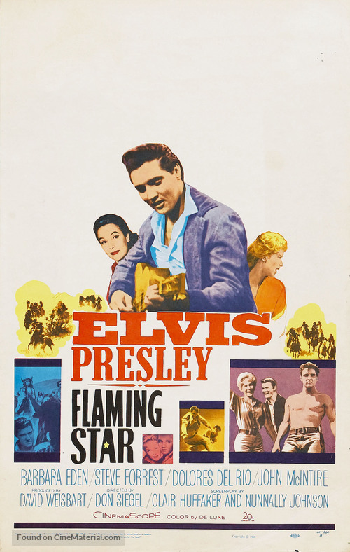 Flaming Star - Movie Poster