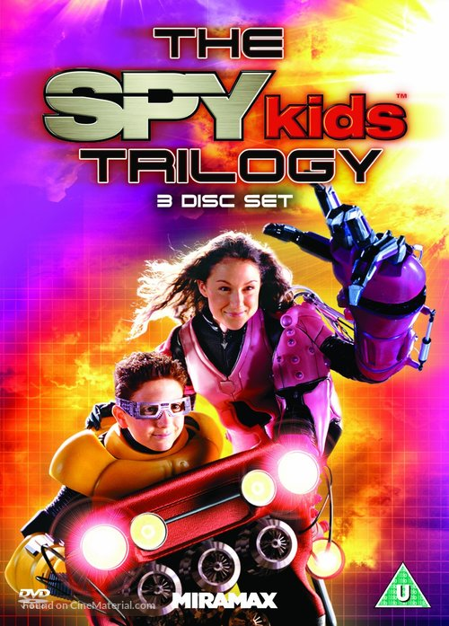 Spy Kids 3 - British DVD movie cover