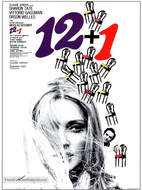 12 + 1 - French Movie Poster