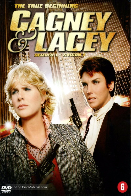 """""""Cagney & Lacey"""" - German Movie Cover"""
