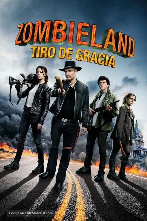 Zombieland: Double Tap - Argentinian Movie Cover