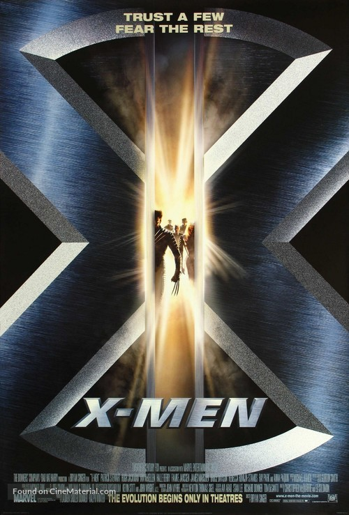 X-Men - Movie Poster