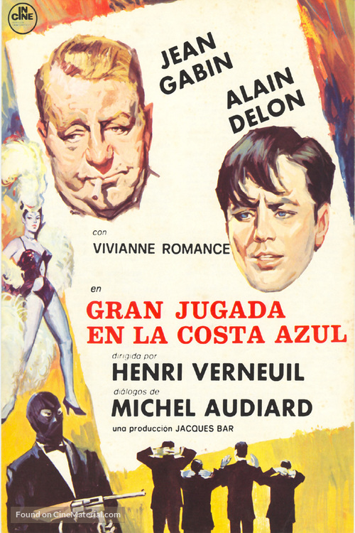 Mélodie en sous-sol - Spanish Movie Poster
