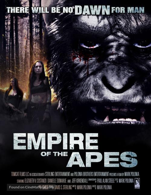 Empire of the Apes (2013) 720p WEBRip x264 ESubs Dual Audio [Hindi DD2.0 + English DD2.0]