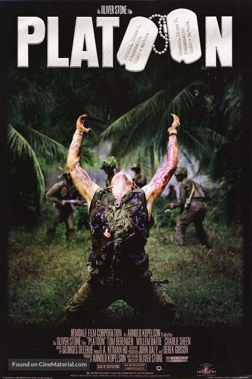 Platoon - Movie Poster