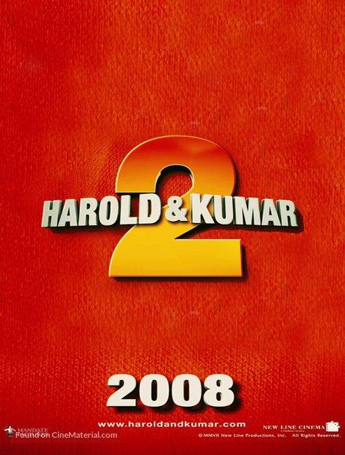 Harold & Kumar Escape from Guantanamo Bay - Movie Poster