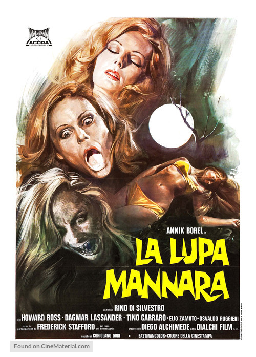 La lupa mannara - Italian Movie Poster