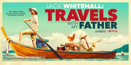 """""""Jack Whitehall: Travels with My Father"""" - Movie Poster"""