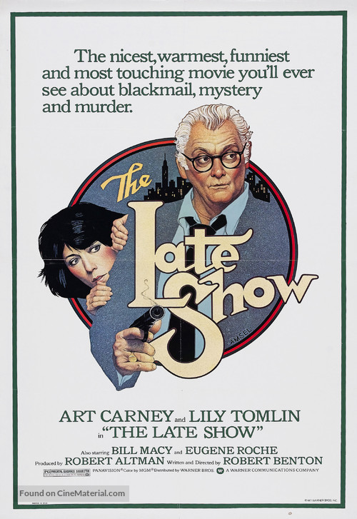 The Late Show - Movie Poster