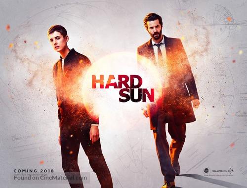 """Hard Sun"" - British Movie Poster"