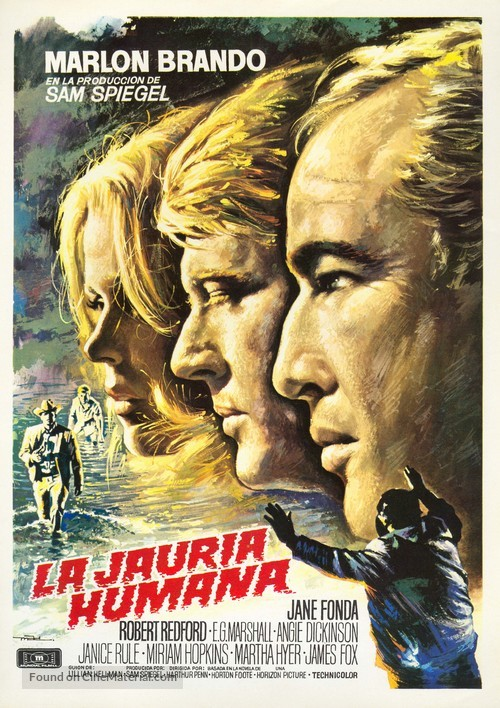 The Chase - Spanish Movie Poster