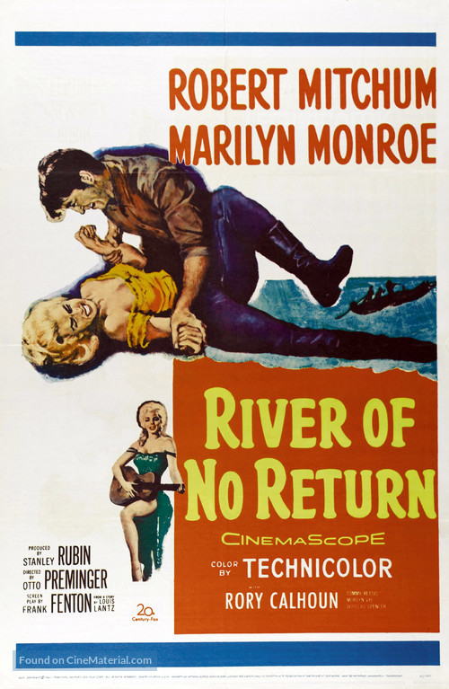 River of No Return - Movie Poster