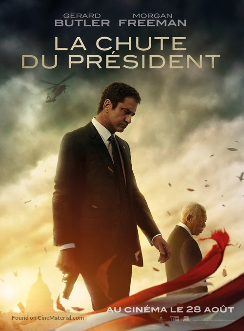 Angel Has Fallen - French Movie Poster