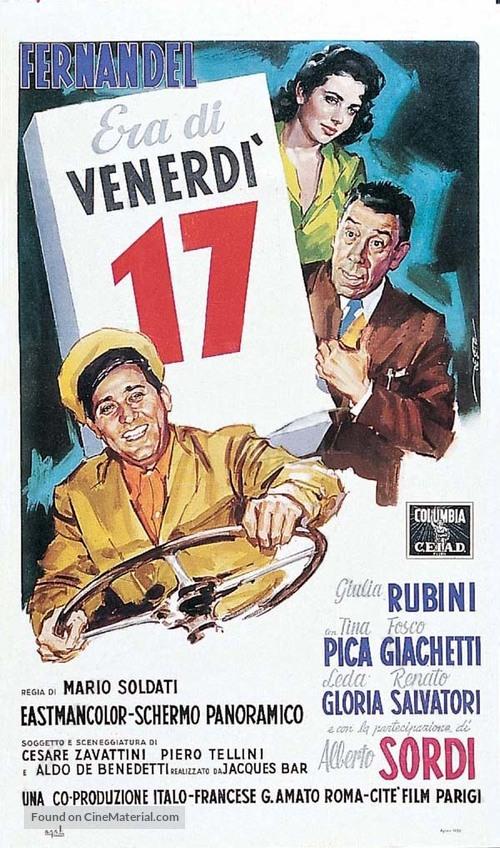 Era di venerdì 17 - Italian Movie Poster