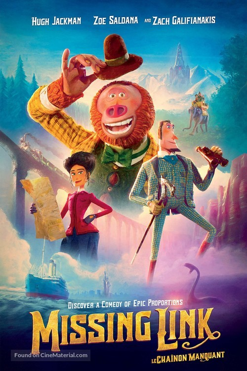 Missing Link - Canadian Movie Cover