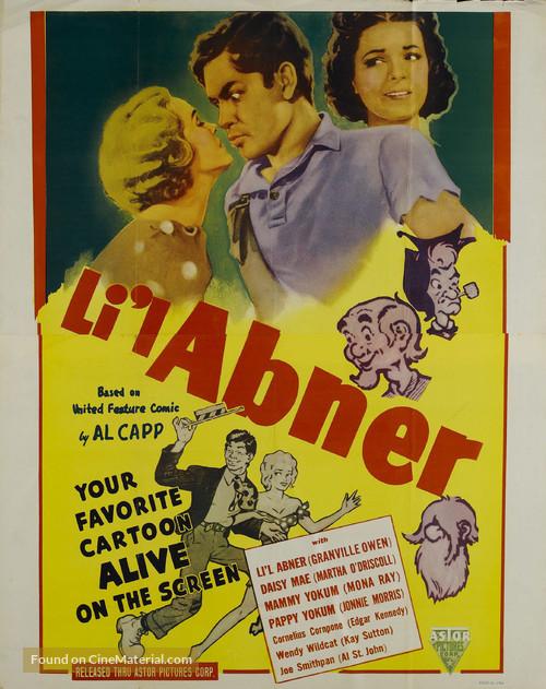 Li'l Abner - Movie Poster