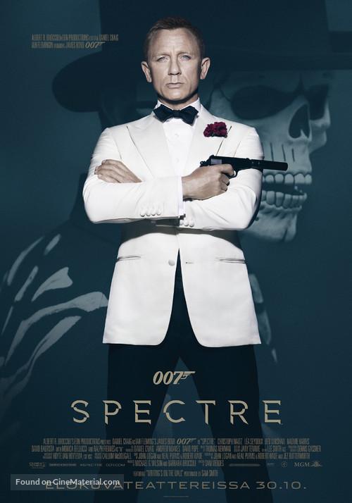 Spectre - Finnish Movie Poster