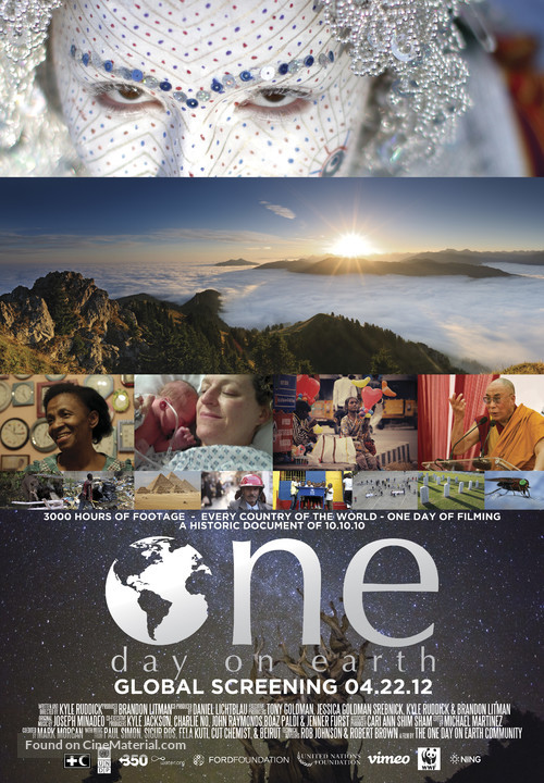 One Day on Earth - Movie Poster