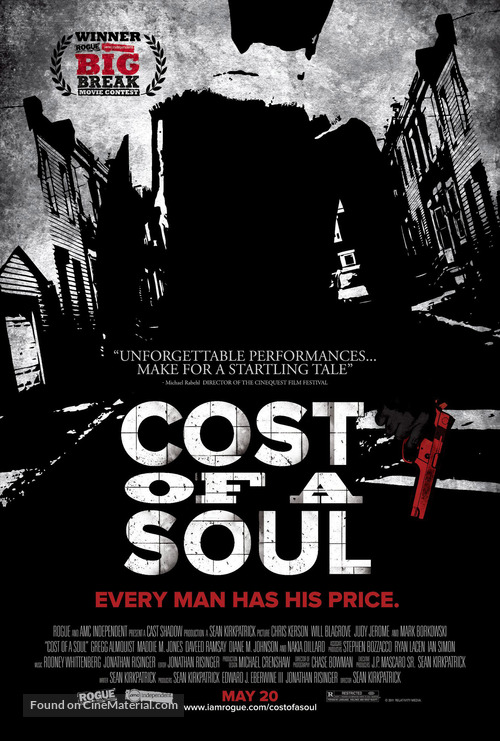 Cost of a Soul - Movie Poster