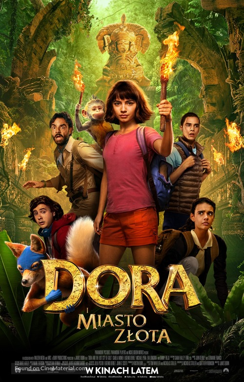 Dora and the Lost City of Gold - Polish Movie Poster