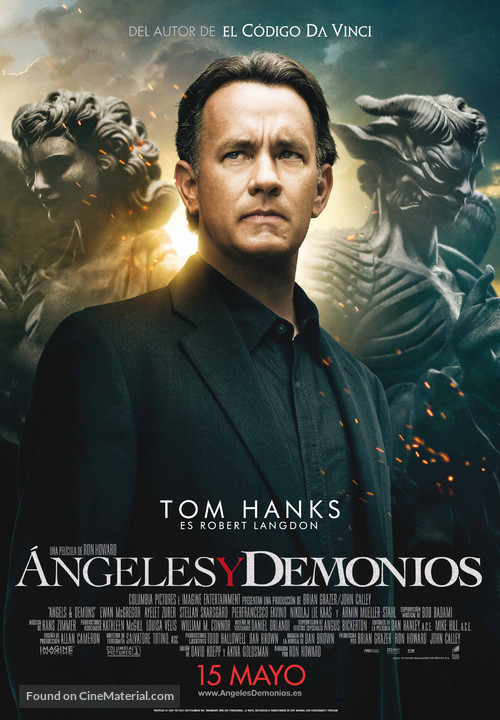 Angels & Demons - Spanish Movie Poster