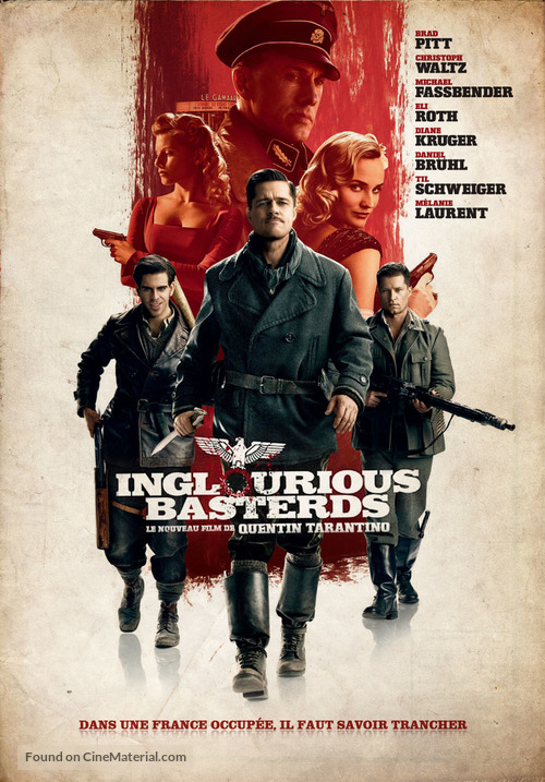 Inglourious Basterds - French Movie Cover