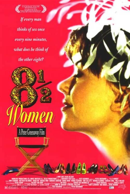 8 ½ Women - Movie Poster