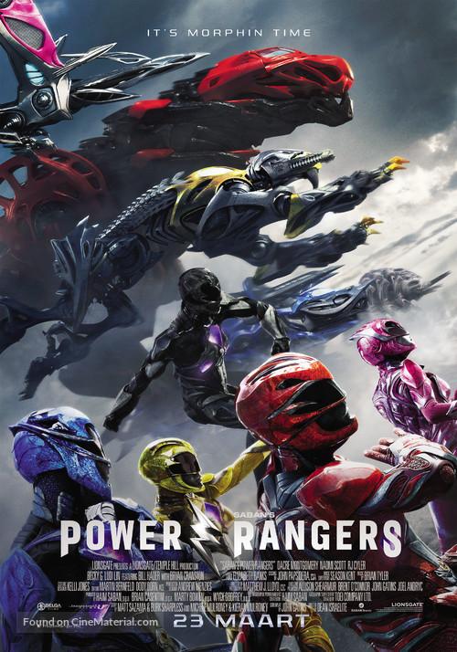 Power Rangers - Dutch Movie Poster