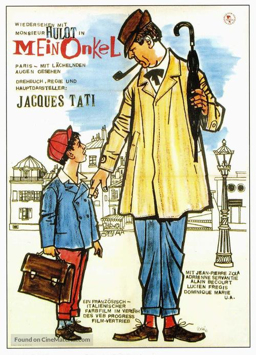 Mon oncle - German Movie Poster