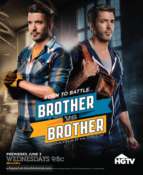 """Brother vs. Brother"" - Movie Poster"