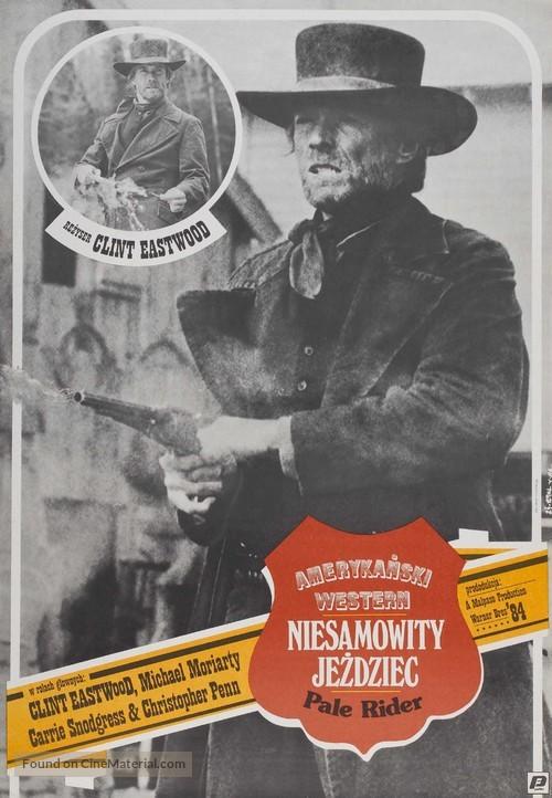 Pale Rider - Polish Movie Poster
